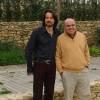 Nicola Roni con Gianni Masciarelli